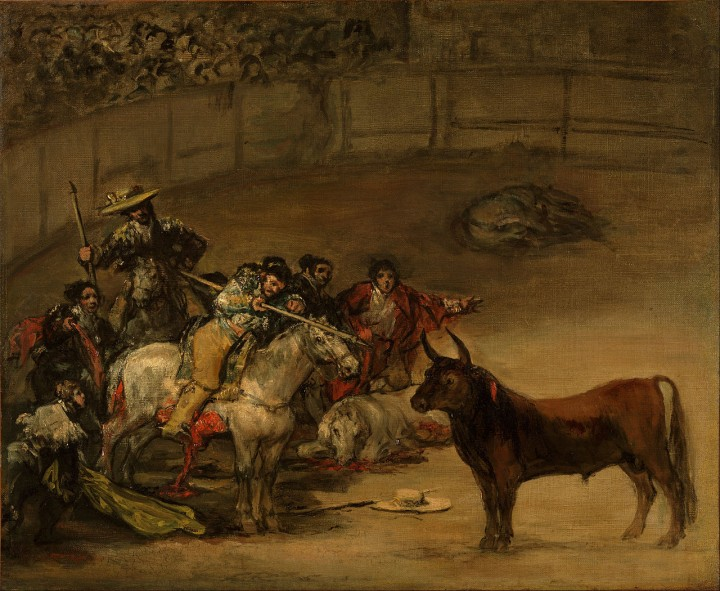 Francisco_José_de_Goya_y_Lucientes_(Francisco_de_Goya)_(Spanish_-_Bullfight,_Suerte_de_Varas_-_Google_Art_Project